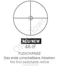 Swarovski reticle 4A-IF